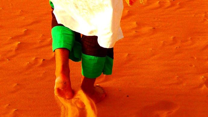 desierto de marruecos, merzouga