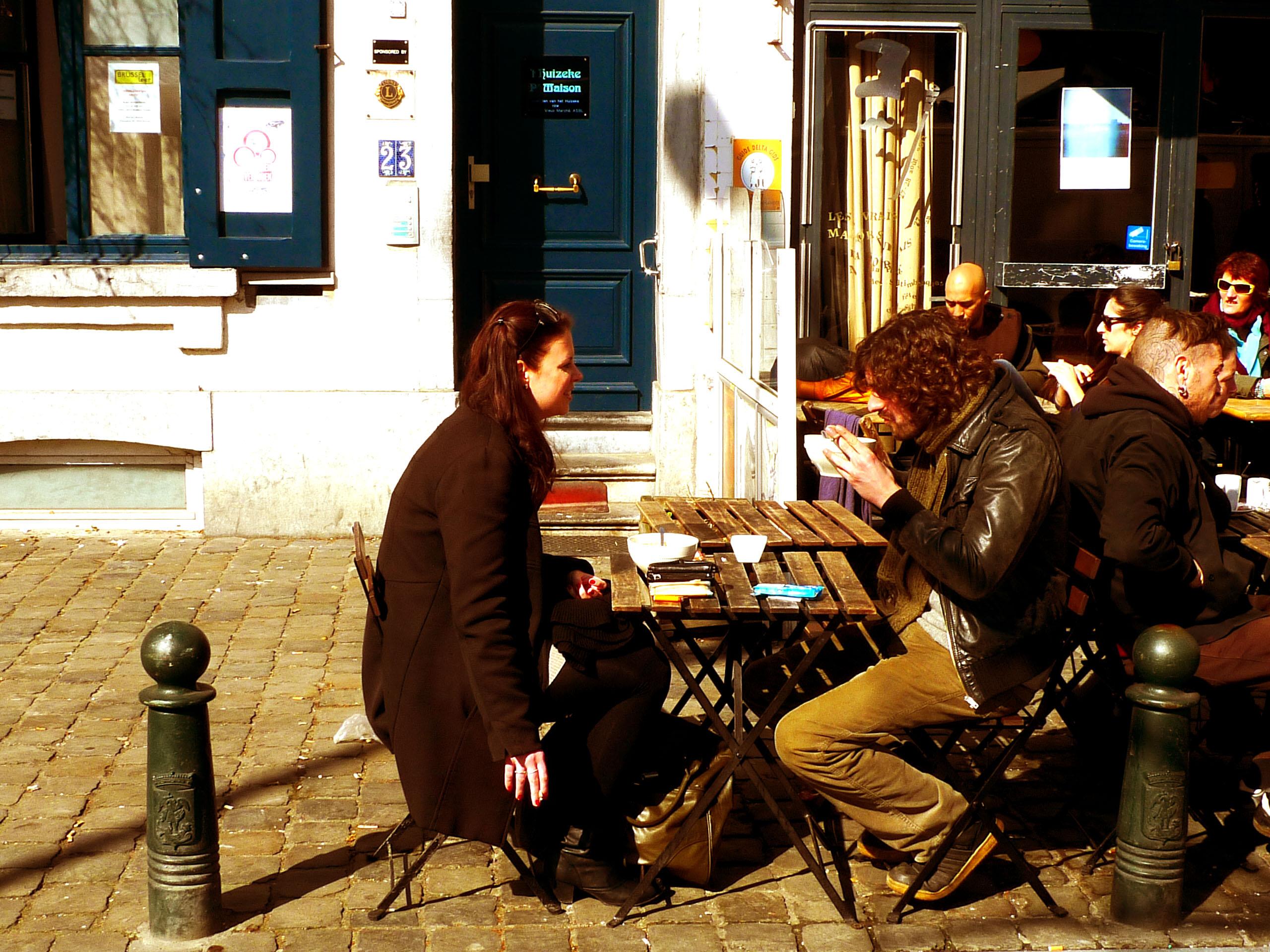 De compras vintage por Bruselas